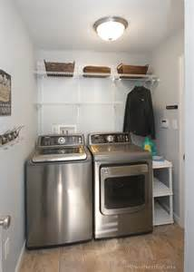 Closet Shelving System by Neighbor Laundry Room Makeover How To Nest For Less