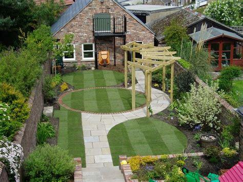 Home Garden Design Plans by Jardin Ext 233 Rieur En Photos Small Garden Design Vogue