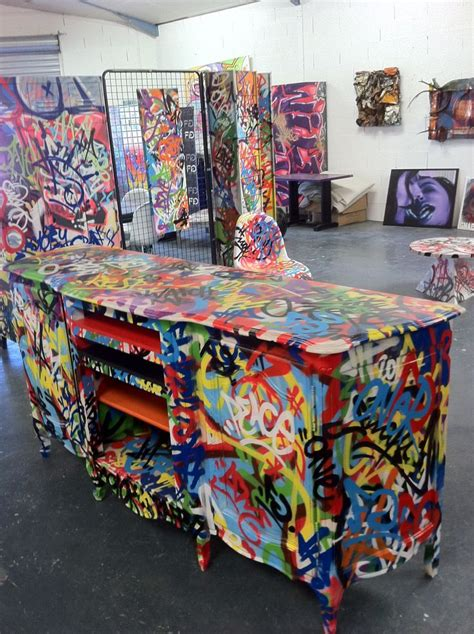 Graffiti Furniture by The 25 Best Ideas About Graffiti Furniture On