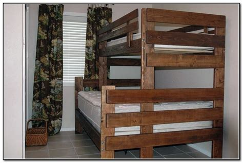 twin  full bunk bed plans  andy twin bunk beds