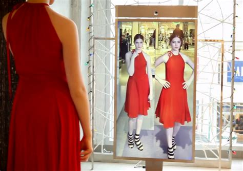 How To Change Your Wardrobe by Smart Mirror Lets You Try On Clothes Outside The Fitting Room