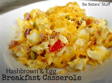 Easy Potluck Main Dish Ideas - hashbrown amp egg casserole six sisters stuff