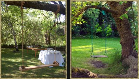 backyard tree swings eye for design simple luxuries decorating with swings