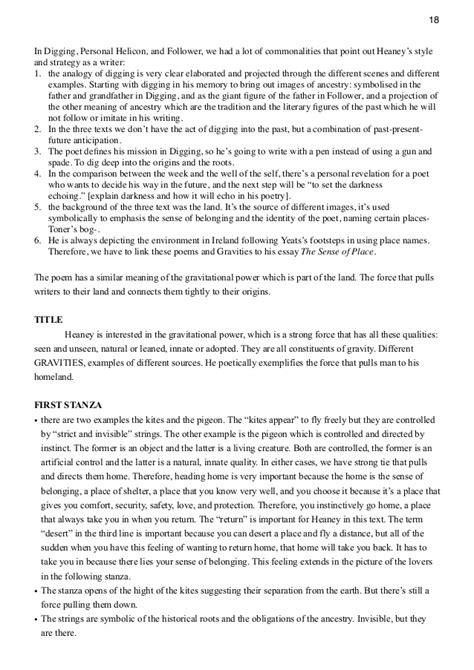 Seamus Heaney Essays by Seamus Heaney Essays Digging By Seamus Heaney Essay Seamus Heaney Essays Digging By Seamus
