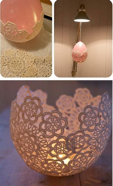 diy home craft ideen 25 beautiful diy fabric and paper doily crafts 2017