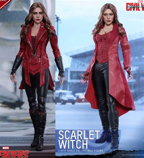 Toys Scarlet Witch Bib New Version Promo Edition 1 toys civil war scarlet witch figure up for order marvel news