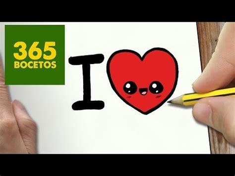 ver imagenes de i love you como dibujar i love you kawaii