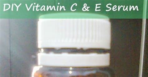 Serum Vit C Di Kimia Farma random diy vitamin c e serum