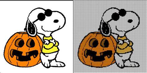 imagenes halloween snoopy costuras stephany free halloween cross stitch patterns