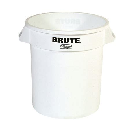 rubbermaid commercial products brute 10 gal white