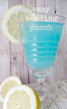 simple punch recipe for wedding shower best 25 blue ideas on