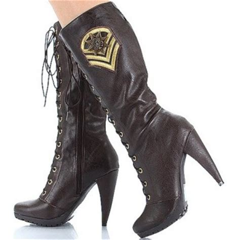womens cowboy boots high heel s lace up high heel cowboy boots fashion 2018