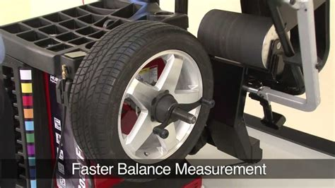 tyre balance the road touch wheel balancing machine by at