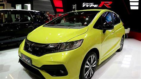 Kas Kopling Honda Jazz Rs honda jazz rs new 2018 exterior and interior