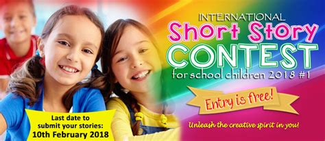 contest for students international story writing contest for school