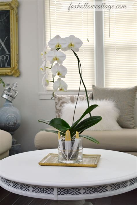 mantel decor and how to diy an orchid flower vase fox