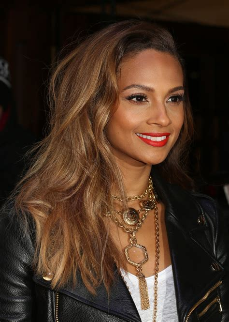 alesha dixon hair color alesha dixon red carpet arrivals for britain s got talent
