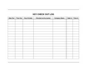 Controlled Log Template by Best Photos Of Key Log Form Key Log Sheet
