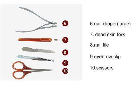 high quality pedicure manicure set professional with