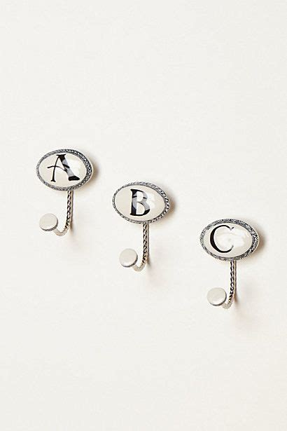 letter hooks for bathroom ceramic letter hook hooks ceramics and letters