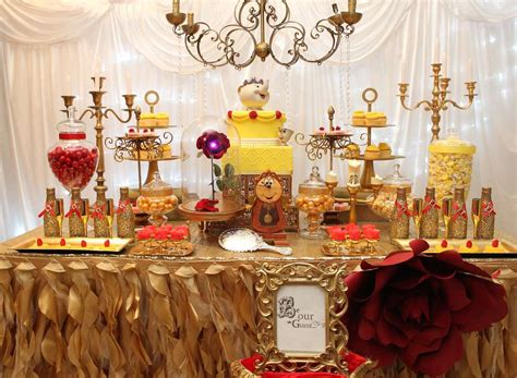 quinceanera themes beauty and the beast belle beauty and the beast birthday party ideas