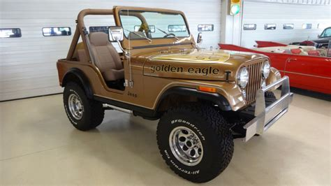 1982 Jeep Cj 5 Golden Eagle Tribute Stock 038244 For