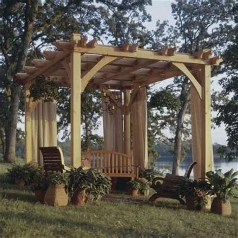 do it yourself gazebo how to build a pergola diy