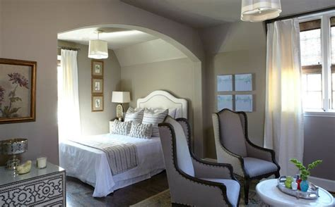 taupe paint transitional bedroom benjamin moore ashley gray tracery interiors