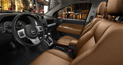 jeep compass interior the 2016 jeep compass is a true urban warrior