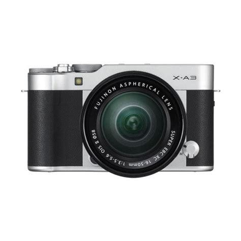 Kamera Mirrorless Fujifilm X A3 16 50mm Bonus jual fujifilm x a3 kit 16 50mm kamera mirrorless silver 24 2 mp harga kualitas