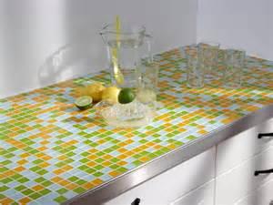 bunte arbeitsplatten mit mosaikfliesen werden k 252 chen endlich bunt selber