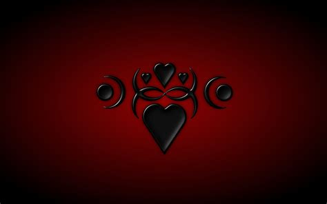 wallpaper dark heart red and black heart wallpaper wallpapersafari