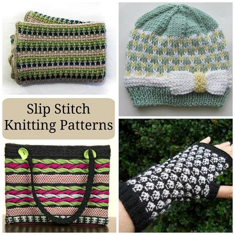 mosaic knitting tutorial easy peasy colorwork slip stitch knitting patterns to