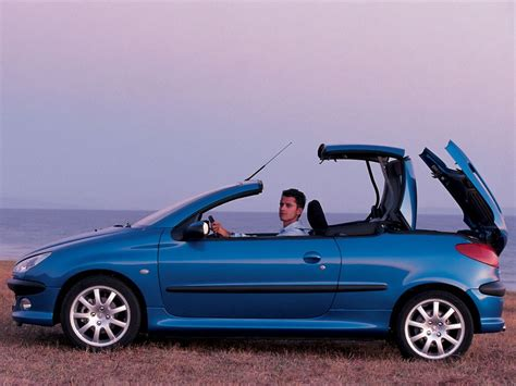 pug 206 cc peugeot 206 generations technical specifications and fuel economy