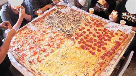 big mamas and papas pizza challenge pizza da 16 porzioni nella catena big s papa s