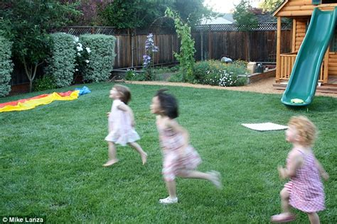 backyard sex pics silicon valley father creates a playborhood in his yard