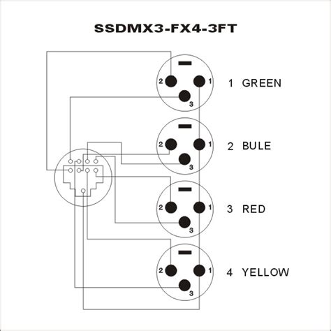 dmx cat5 pinout wiring diagrams wiring diagram schemes