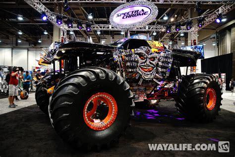 monster truck show 2013 2013 sema show monster trucks