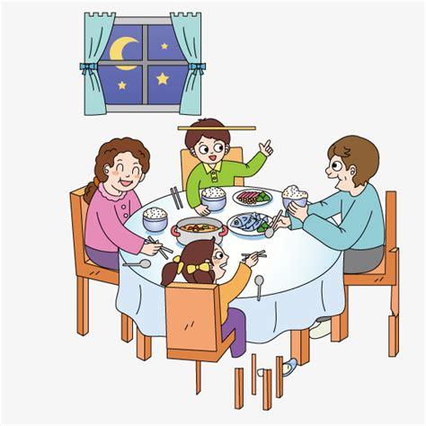 clipart cena cena familiar vector la cena familia png y vector para
