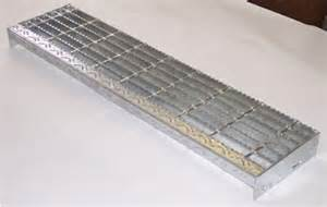 Stair Treads Steel by Bar Grating Stair Treads Galvanized Treads