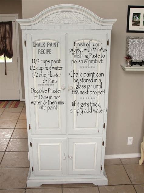chalk paint diy recipe chalk paint recipes paint and chalk paint furniture on