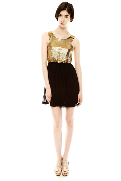 L Dress Keyren Salem moon two tone cocktail dress from salem by every occasion shoptiques