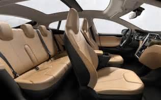 Tesla Model S Pictures Interior 2013 Tesla Model S Term Road Test