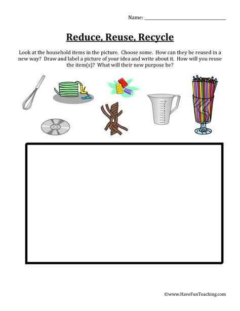 Recycle Worksheets by Free Printable Recycling Worksheets For Kindergarten
