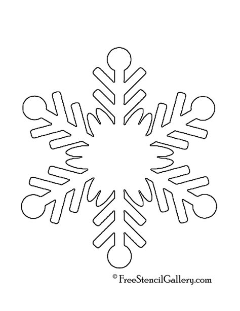 printable snowflake stencils www imgkid com the image
