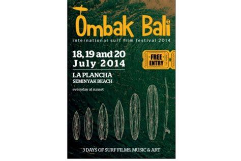 ombak film festival ombak bali international surf film fest kembali digelar