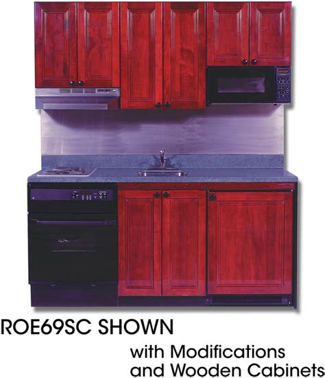 compact kitchens acme roe9y69sc compact kitchen with solid surface