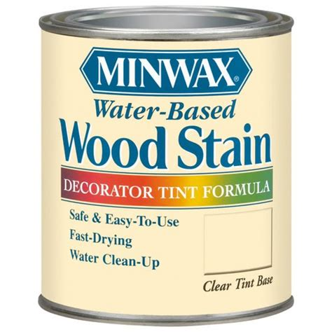 lowes creative ideas blog water base  oil base stains