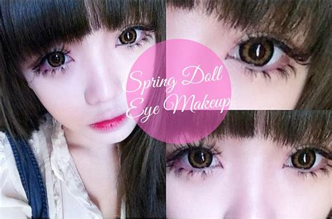 tutorial make up like a doll tutorial make up like a doll