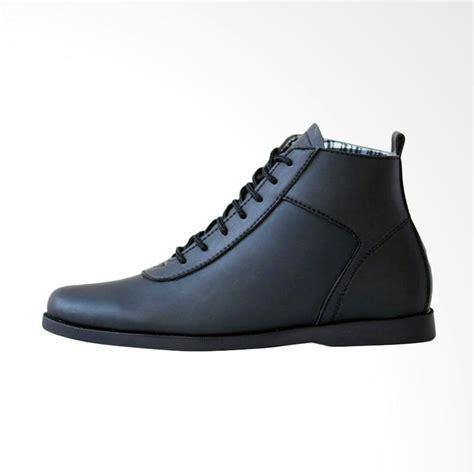Sepatu Boots Hitam jual frandeli brodo klasik sepatu boots pria hitam harga kualitas terjamin blibli